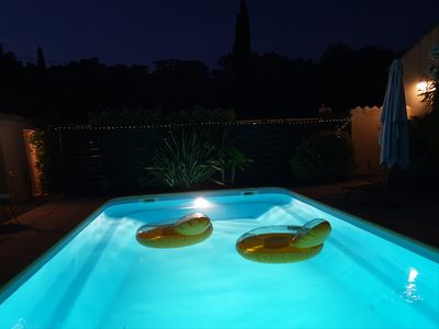 Photo for Provencal villa with pool in Allauch, near Marseille, Cassis