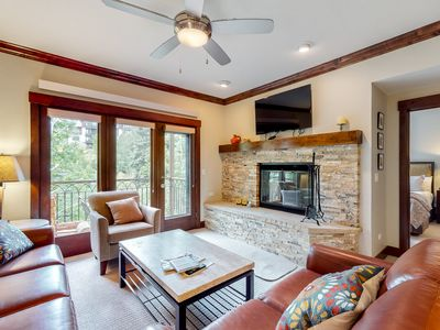 Photo for Family-friendly skier's paradise w/shared pool & hot tub/private balcony