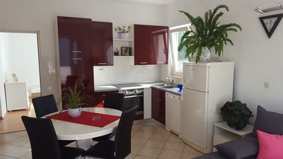 Photo for Scenic Maroon apartment Hvar city!