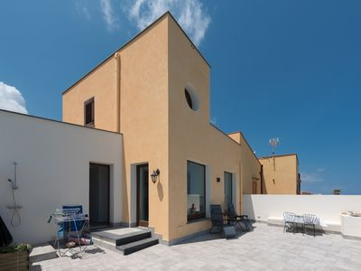 Photo for The tranquility of the sea in the countryside - Villa Porta Azzurro