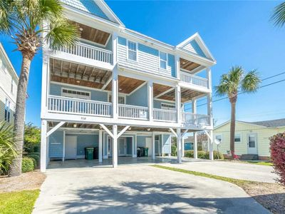 Photo for Carolina Blue: 6 BR / 4 BA duplex - 1 side in Kure Beach, Sleeps 15