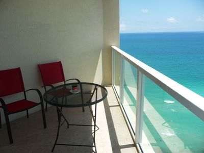 Photo for Beachfront Luxurious Paradise - LaPerla - Direct Ocean View in Sunny Isles