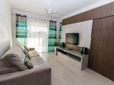 Photo for Great High Standard Apt - Praia do Forte - Cabo Frio w / Screen Protection for Child