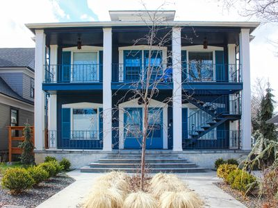 Photo for Hip, modern getaway w/ a full kitchen & free WiFi - close to downtown!