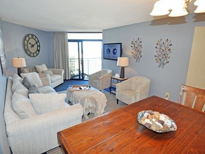 Photo for Fantastic direct oceanview 3BR condo in Myrtle Beach at the Sand Dunes Resort