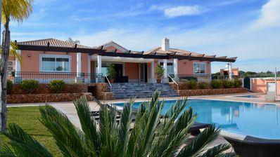 Photo for Villa Alto do Castelo With 2 Pools, Jacuzzi and Tennis courts