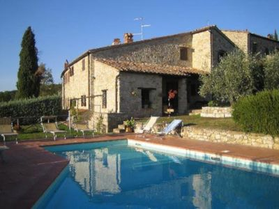 Photo for Beautiful villa with swimming pool in the heart of the Chianti with swimming pool