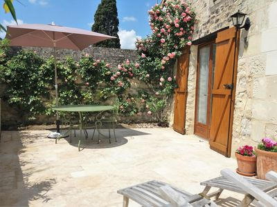Photo for 1BR Cottage Vacation Rental in Pouançay, Nouvelle-Aquitaine