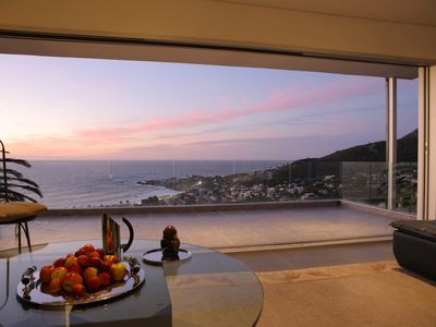 Photo for Modern, luxury Penthouse apartment, Camps Bay