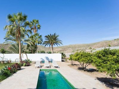 Photo for 3 bedroom Villa, sleeps 6 in Guaza with Pool and WiFi