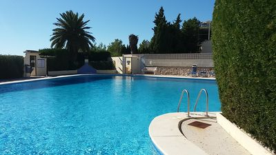 Photo for **** sea view, comfortable, bungalow, pool, air conditioning, terrace