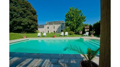 Photo for A Classic 17th Century Manor House in the Anjou Wine Region