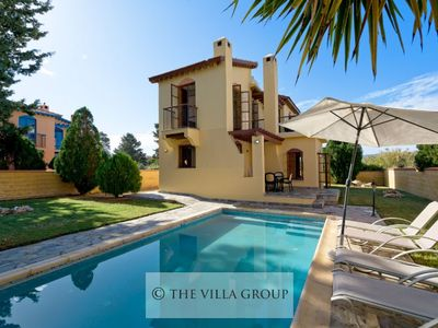 Photo for Charming 2 bedroom villa only 100m from the beach