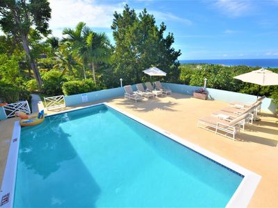 Photo for FULLY STAFFED! POOL! BUTLER! CHEF! BEACH CLUB! SEAVIEWS! Serendipity, 4BR