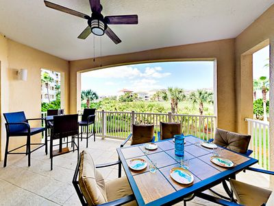 Photo for Steps to Beach! 3BR w/ Private Balcony - Stunning On-Site Pools & Golf