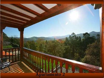 Photo for Cottage divided in apartm. 4 to 14 people, to the beach 2.5 Km. to Picos 20 Km.