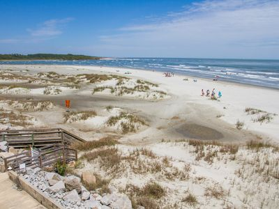 Photo for Incredible beach front property with amazing views of the ocean and inlet!