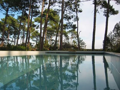 Photo for Beautiful house, heated private pool, near ocean and lake, sleeps 10