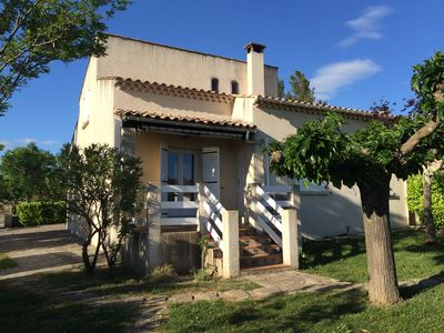 Photo for Pretty renovated villa Gard / Ardèche: nature, calm, sun & rest!