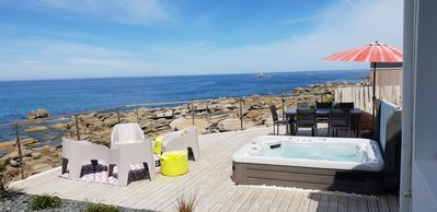 Photo for Feet in the water: IMPRENABLE SEA VIEW + JACUZZI