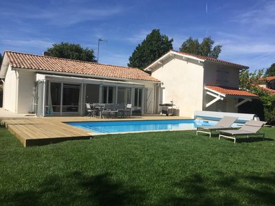 Photo for Villa Arcachon, Pyla, la Teste, renovated in 2016 at 2 steps from the Arcachon Golf