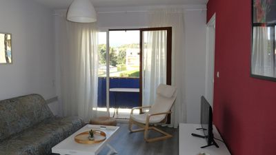 Photo for Apartment T2 + loggia for 4 people - favière bormes the mimose