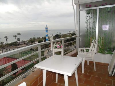 Photo for Studio apartment in the center of Torre del Mar with Pool, Lift, Terrace, Washing machine (753431)
