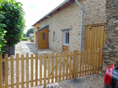 Photo for Detached Gite with Garden Close to Josselin