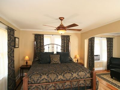 Photo for The Montview Cottage with Private Hot Tub & King Bed
