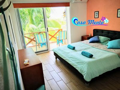 Photo for CASA MENTA - Room Hawaii | Only a few steps to the Playa Zicatela