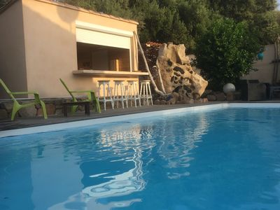 Photo for VILLA CLIMATISEE WITH PRIVATE SWIMMING POOL