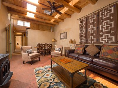 Photo for Historic Romance, Walk to The Plaza and Railyard, Hot Tub