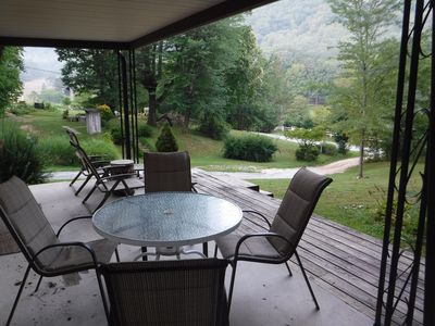 Front Porch and Valley View