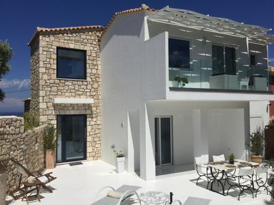 Photo for Zakynthos,gteece,dion Suite,private Pool, Ideal for Couples and Kids,