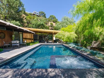 Photo for Mid-Century Pool Retreat in the Hollywood Hills
