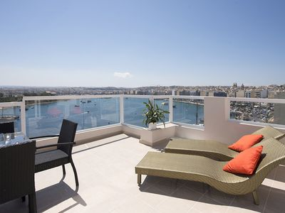Photo for Amazing Views Seafront Sliema Penthouse