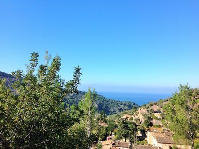 Photo for House in the outskirts of Deia - mountain, village and sea views -