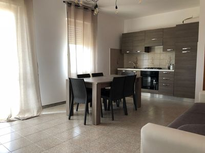 Photo for Black and White apartment in Alghero