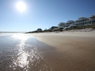 Photo for New Listing – Luxury Premium Oceanfront 4/5 BR Home, Pool, Elevator, Surf City
