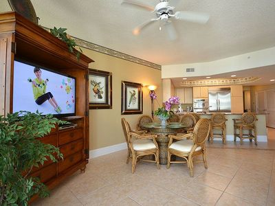 "Photo for 2 King Suites - Great Views of the Gulf - 50"" TV - 1 PM Check In Option"