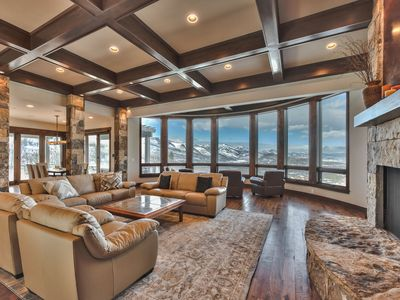 Photo for CDC Approved Cleaning! Truly Jaw-Dropping Mountain Views + Location. Plush Group/Family Home