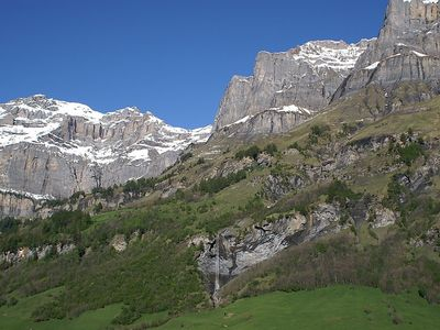 Photo for Apartment in the center of Leukerbad with Lift, Parking, Internet, Washing machine (46143)