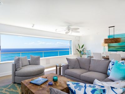 Photo for Professionally Decorated, Beachfront, Double Unit on the 18th floor.