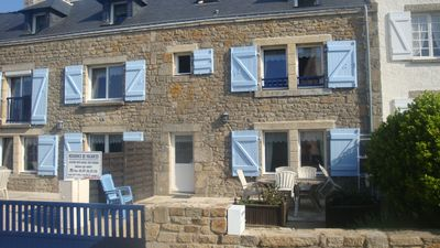 Photo for Breton house located in an authentic seaside village in Brittany