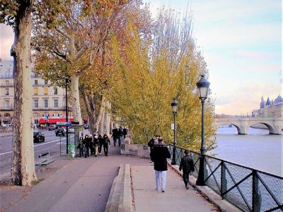 Photo for CHIC GREAT VIEW FACING LOUVRE/ SEINE RIVER/ PONT NEUF/TUILERIES/4mn PL VENDOME