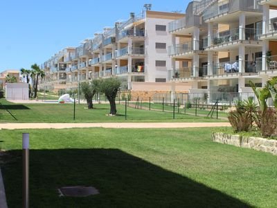 Photo for spacious modern 3 bedroom apartment in gated community in Los Dolses