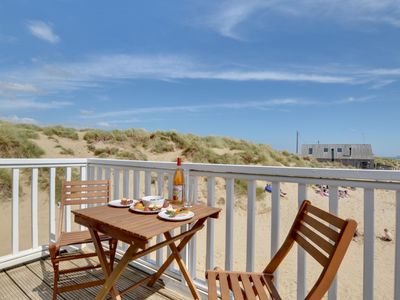 Photo for 4-person holiday home on the beach