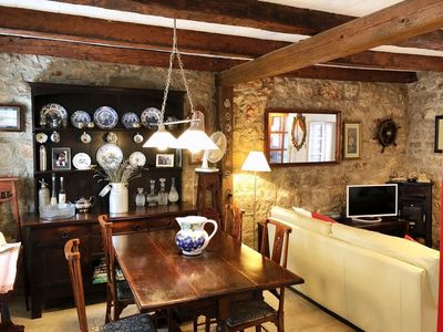 Photo for Quaint Old Stone Cottage in the heart of Vrboska Old Town, 50m from the Harbour