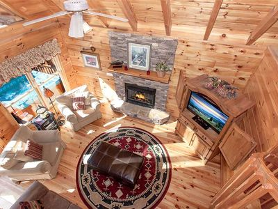 Photo for Aspen Knights | Tranquil Wooded Views | Hot Tub | Foosball | Wi-Fi | Pigeon Forge