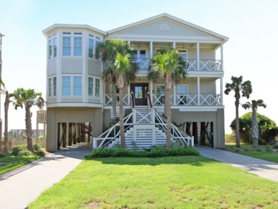 Photo for Pet friendly, Luxury Oceanfront home on Folly Beach